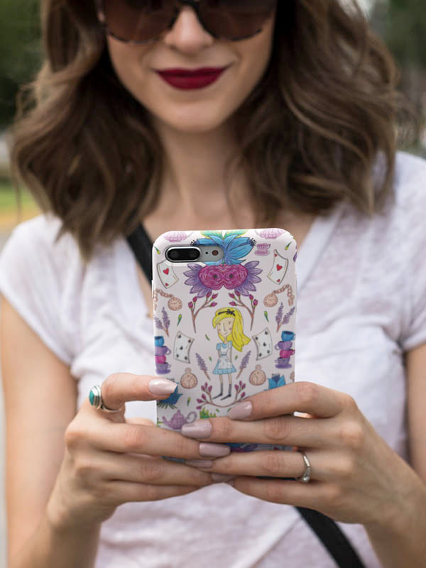 Wonderlust | Alice in Wonderland Inspired Phone Case Mobile Case for iPhone and Samsung