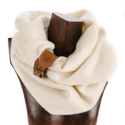 Cambridge Cashmere Snood - Cream