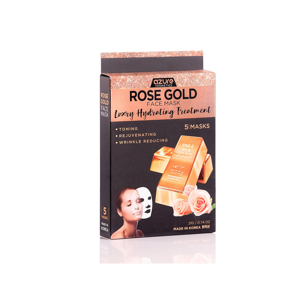 Rose Gold Luxury Hydrating Face Mask