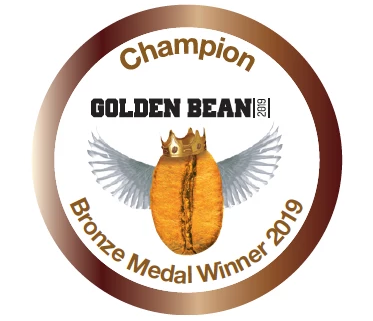 Bronze Stickers 2019 for Golden Bean North America