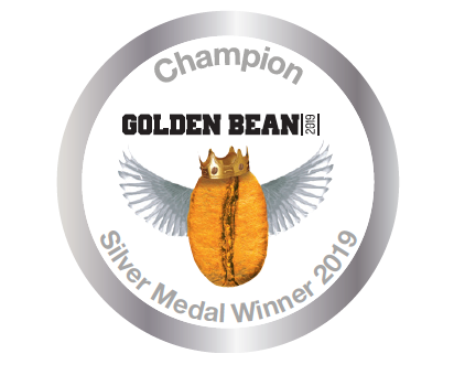 Silver Stickers 2019 for Golden Bean North America