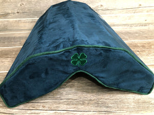 SaddleMattress Vertex Four Leaf Clover - Navy Blue