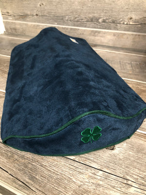 SaddleMattress Supreme Four Leaf Clover in Navy Blue