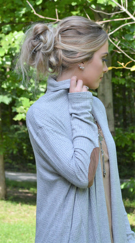Gray Long Sweater