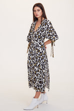 Load image into Gallery viewer, Leopard Lounge Midi Dress