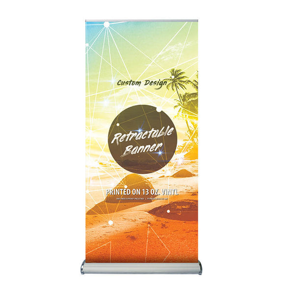 Two-Sided Retractable Banner Stand