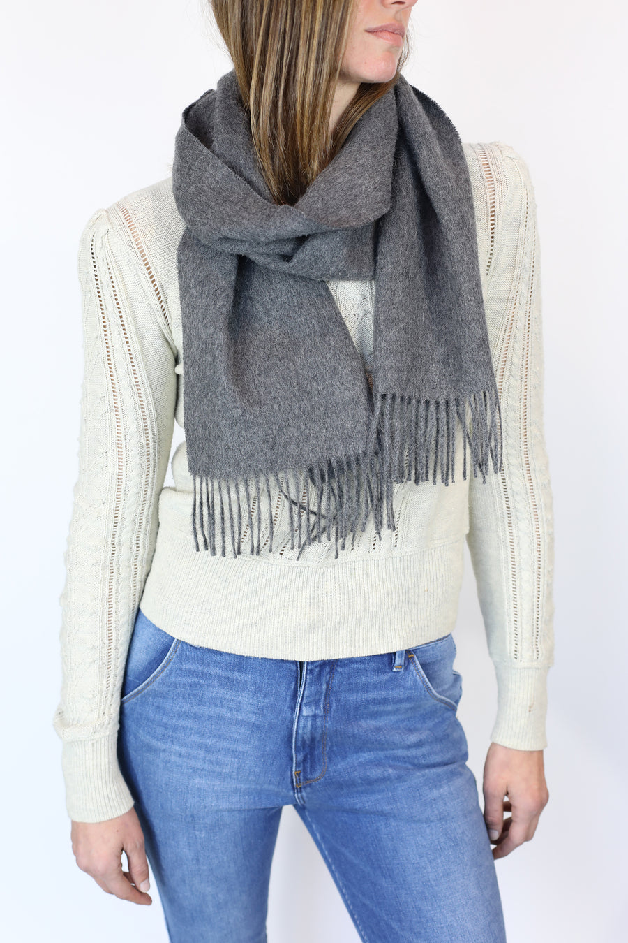 Classic Fringed Scarf