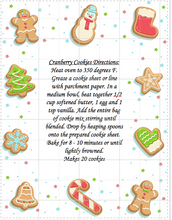 Load image into Gallery viewer, Cranberry Cookie Mix