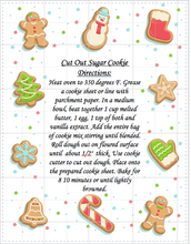 Load image into Gallery viewer, Cut Out Sugar Cookie Mix