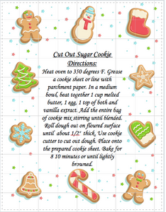 Cut Out Sugar Cookie Mix