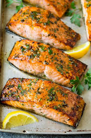Grilled Salmon Box