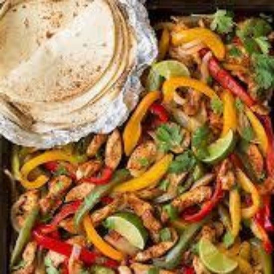 Chicken Fajita Meal