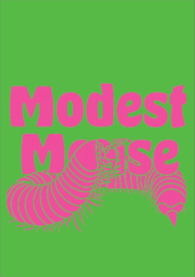 Modest Mouse Caterpillar Koozie