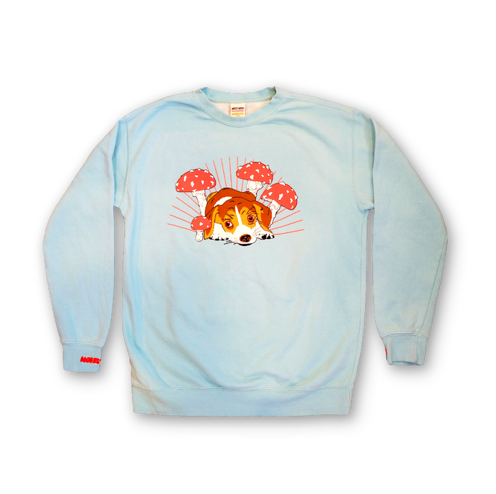 Shroom Dog Sweat Shirt