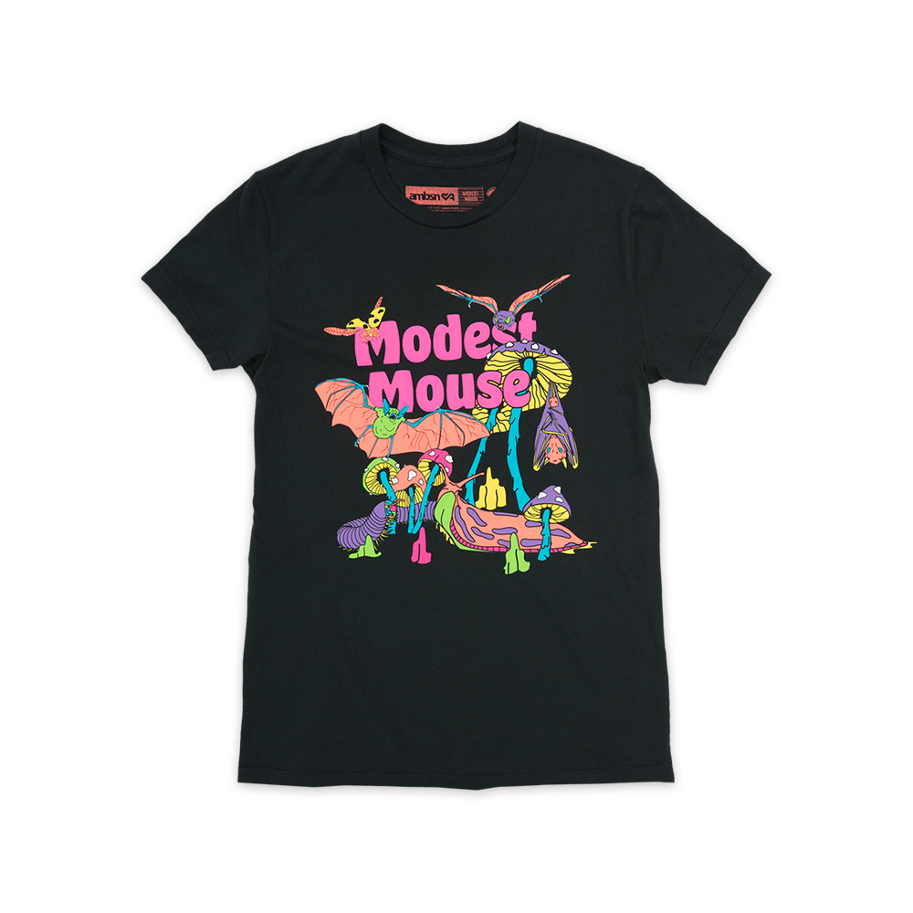 Modest Mouse Bat Cave 2018 Summer Tour Dates T-Shirt
