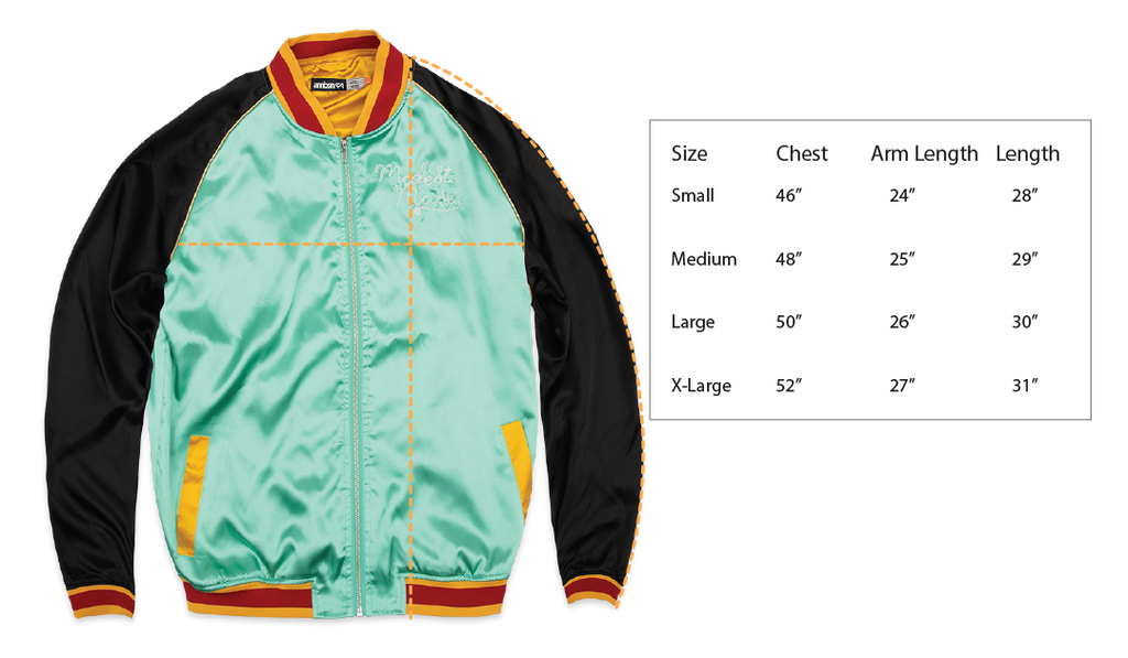 Modest Mouse Bat Ray Bomber Jacket