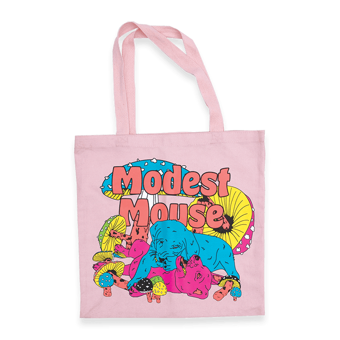 Modest Mouse Ambsn Puppies Tote