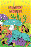 Modest Mouse x Ambsn Black Light Poster 3 Pack