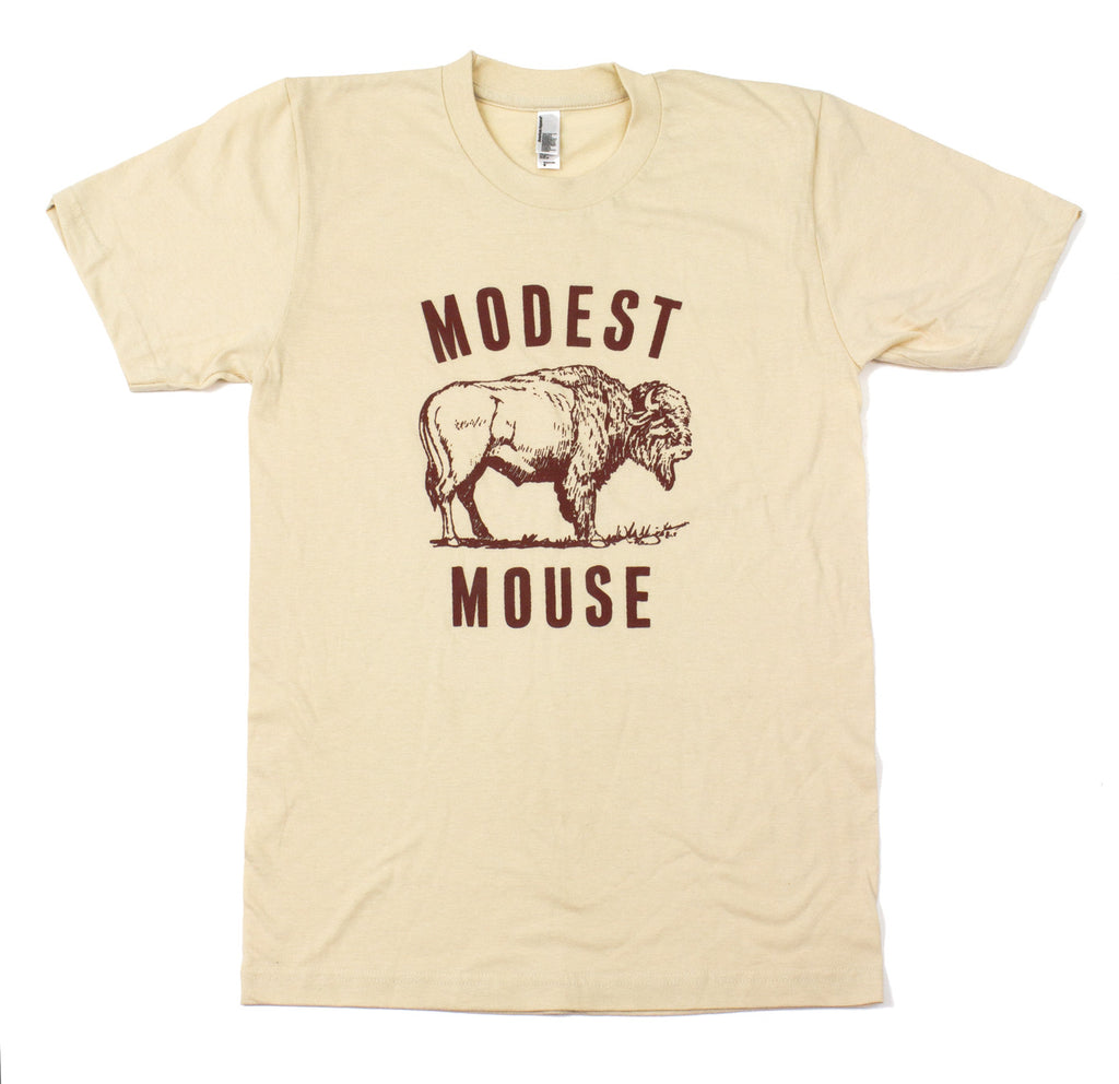 9f82702ed41f Modest Mouse Buffalo T-Shirt – Glacial Pace Recordings