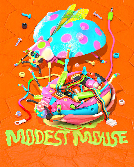 Modest Mouse 2015 Tour Poster Series (Singles)