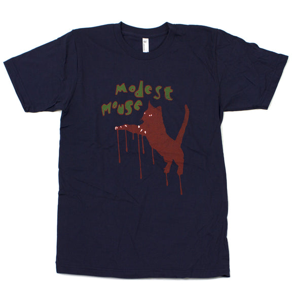 Modest Mouse T-Shirt, Jumping Cat