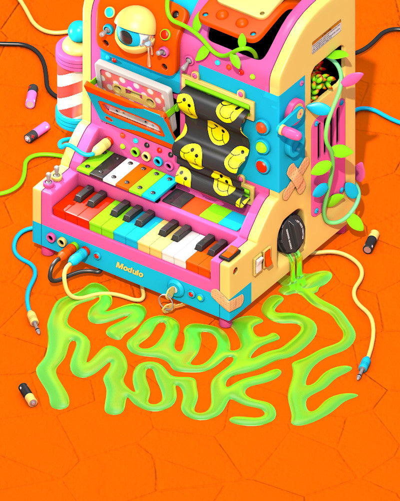 Modest Mouse 2015 Tour Poster Series