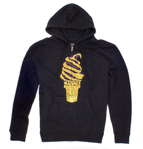 Melt Down Modest Mouse Ambsn Zip-Hoodie