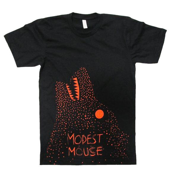 Modest Mouse Wolf T-Shirt