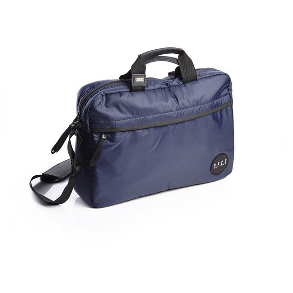 Chrome Laptop Bag - Navy