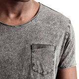 SPCC | Tee | Dirty dye | Chest pocket