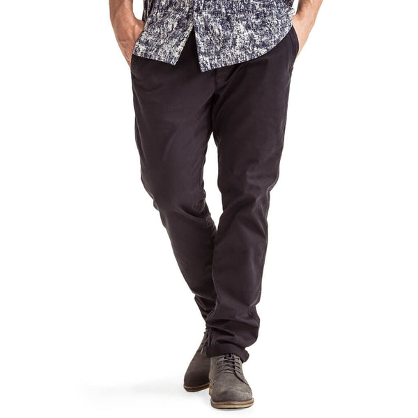 Mens-Black-Chino-Front-View