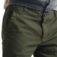 Mens-Chino-Stovepipe-Pants-Olive