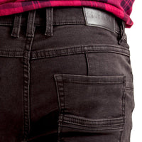 Mens-Jeans-Slimfit-Black-Denim