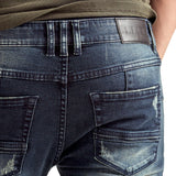 Denim-Jeans-Slimfit-Blue-Grey-Back-Pocket