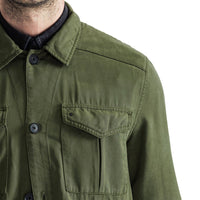 Mens-Shacket-Shirt-Jacket-Olive