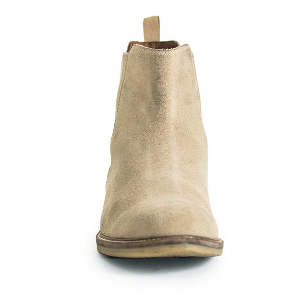 Suede Chelsea Boots - Stone – Shopify