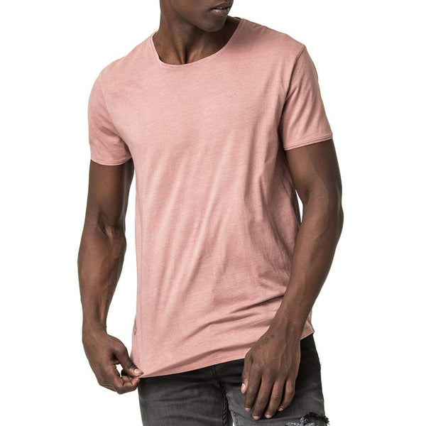 Origin Chevron T-Shirt - Dusty Pink