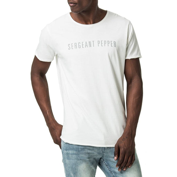 Sergeant Pepper Logo Printed T-Shirt - Off White