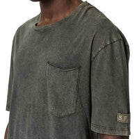 Granite Oversized T-Shirt - Olive