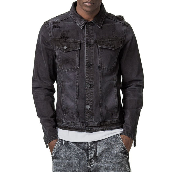Operator Denim Jacket - Black