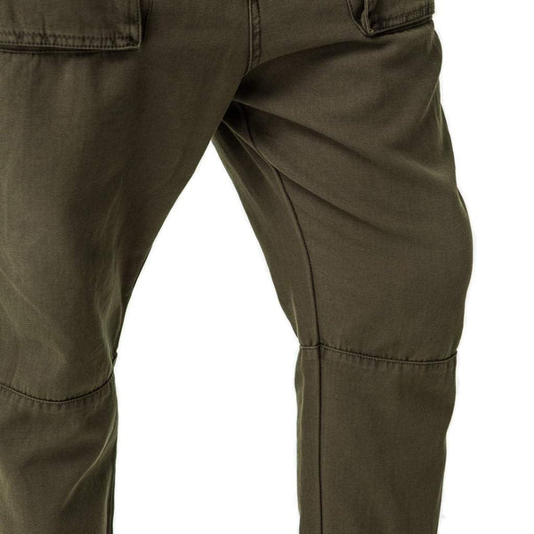 0229bddb7f4a0e ... Mens-Cropped-Pants-Olive-Green-Front-View ...