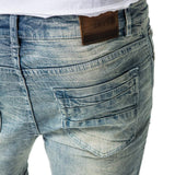 Gunbarrel Short - Light Bleach Blue