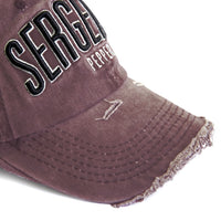 Hunter Baseball Cap  - Burgundy
