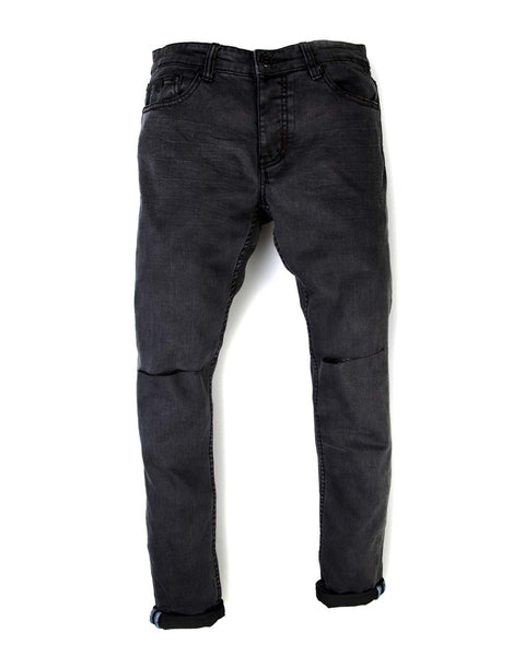 Trench Skinny Jeans - Coal Wash