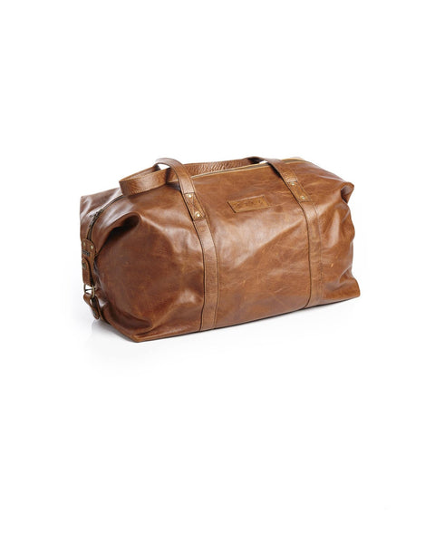 SPCC | Sergeant Pepper Travel Bag | Leather | Brown | Mens bags