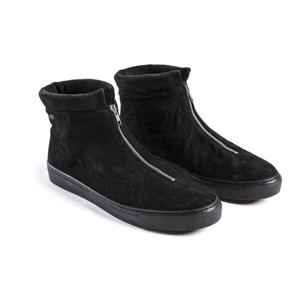 Goran Zip Boot - Black