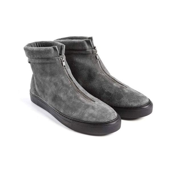 Goran Zip Boot - Grey