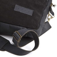 SPCC | Sergeant Pepper Laptop Bag | Leather | Suede | Black