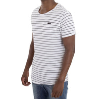 SPCC | Sergeant Pepper Tee | Stripe | 100% Cotton | White | Black