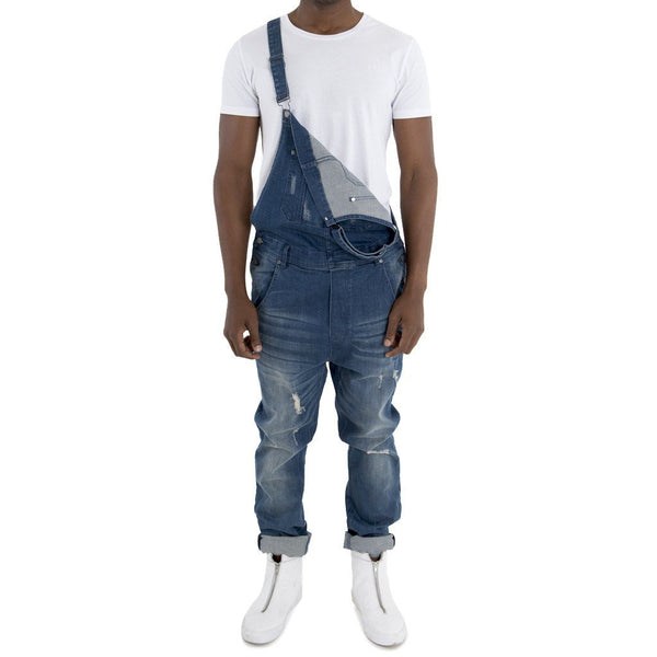 SPCC | Sergeant Pepper Denim Dungaree | Overall | Blue | Drop Crotch